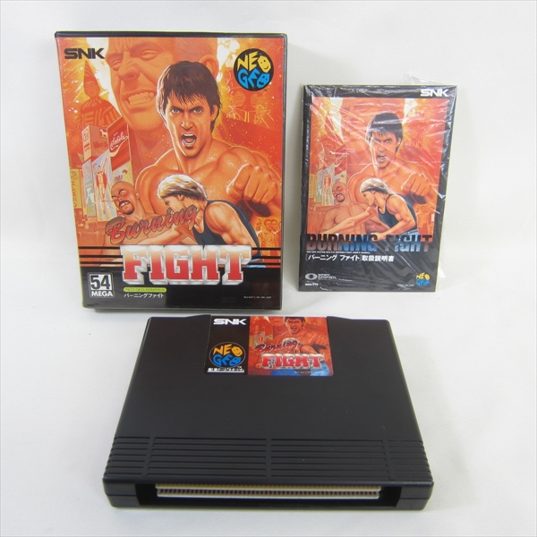 NEO GEO AES BURNING FIGHT SNK Neogeo Import JAPAN Game