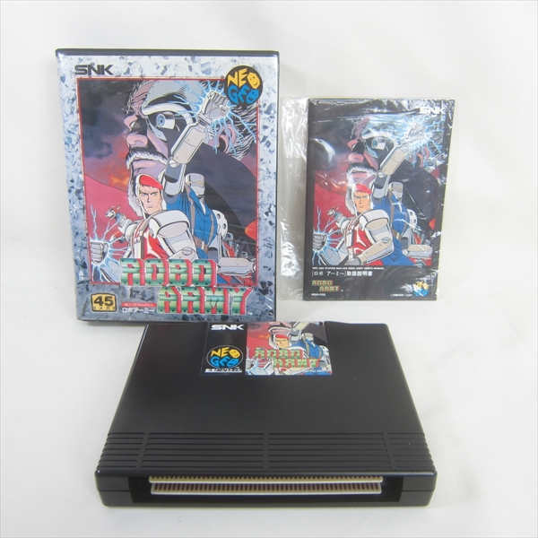 NEO GEO AES ROBO ARMY SNK Neogeo Import JAPAN Video Game