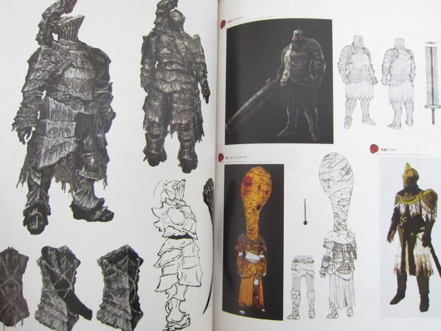 Dark souls design works illustration art material book ps3 for Dark souls 3 architecture