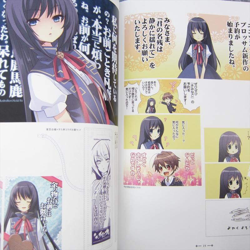 kimi no wa visual guide