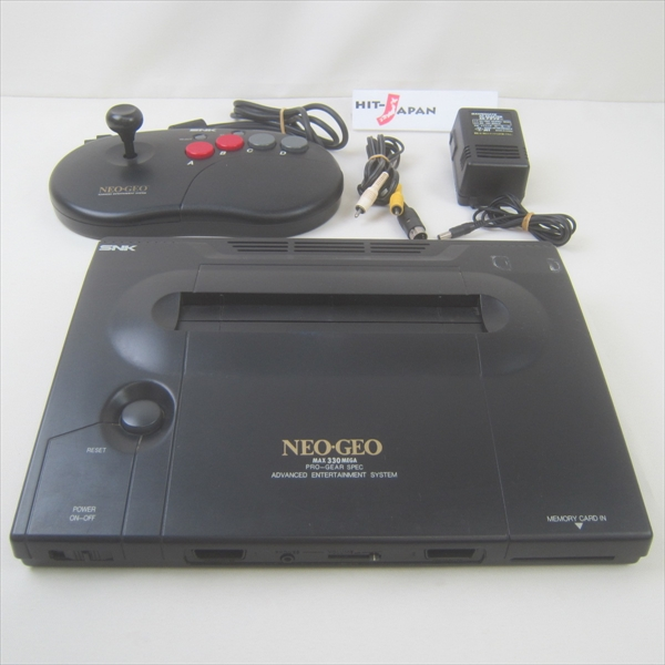 NEO GEO AES Neogeo Console System Serial 204231 JAPAN Game