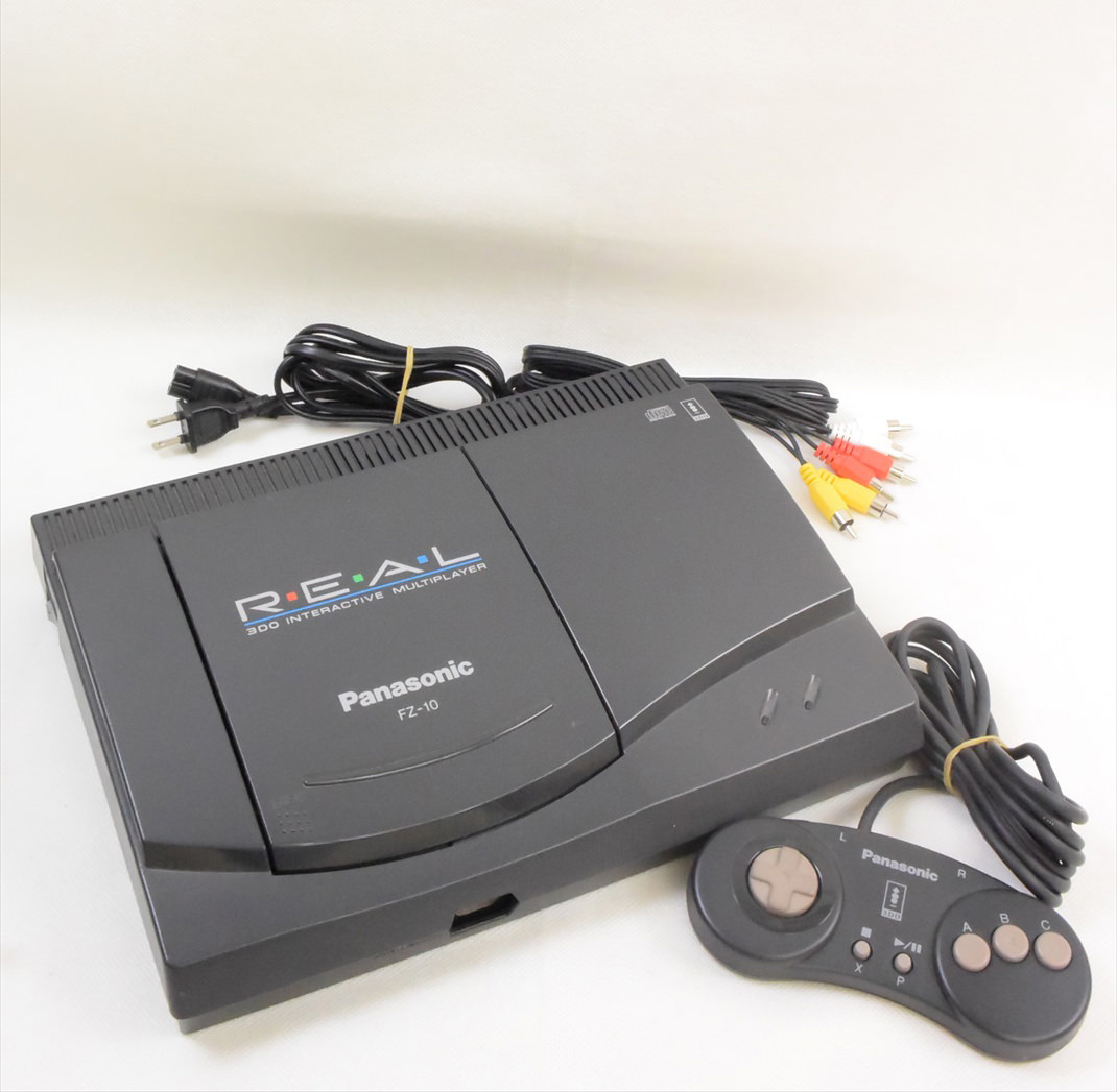 3DO REAL FZ-10 Console System Ref/5EKSC11673 Tested ...