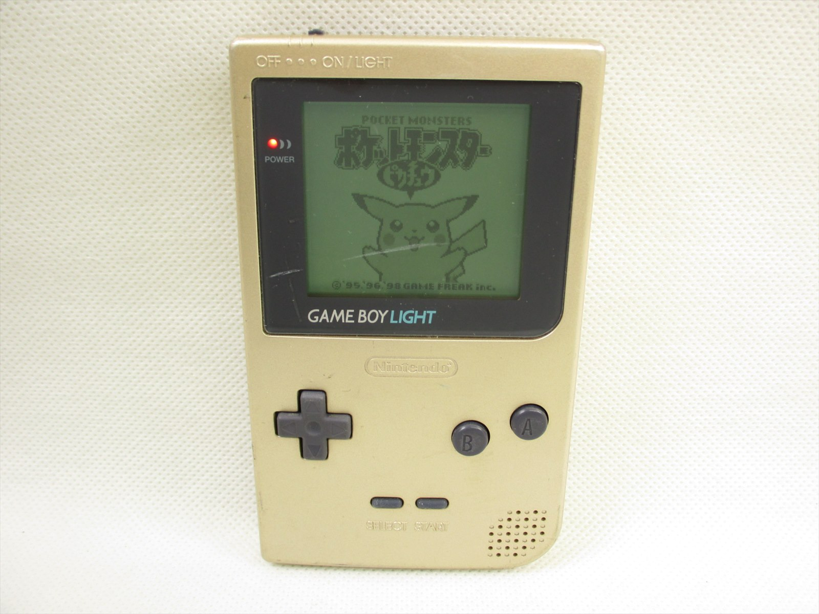 Game boy color list - Game Boy Light Gold Console Mgb 101 Nintendo Gameboy Tested Japan Gb 2229 Jp