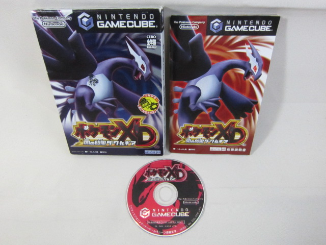 Nintendo game cube pokemon xd dark lugia japanese game gamecube import bbbc gc ebay - Gamecube pokemon xd console ...