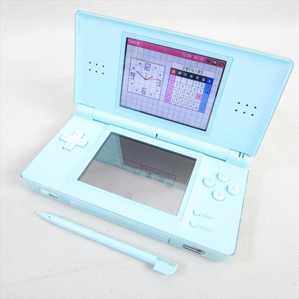 nintendo ds lite ice blue console system boxed usg 001 import japan 16262 ebay. Black Bedroom Furniture Sets. Home Design Ideas