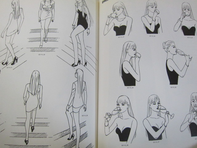 Super Character Design Poses Pdf : Super character design poses heroine illustration art