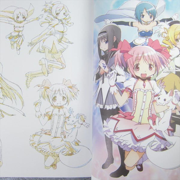 MADOKA MAGICA Puella Magi Opening Key Animation Note Art Works Design Book 2011