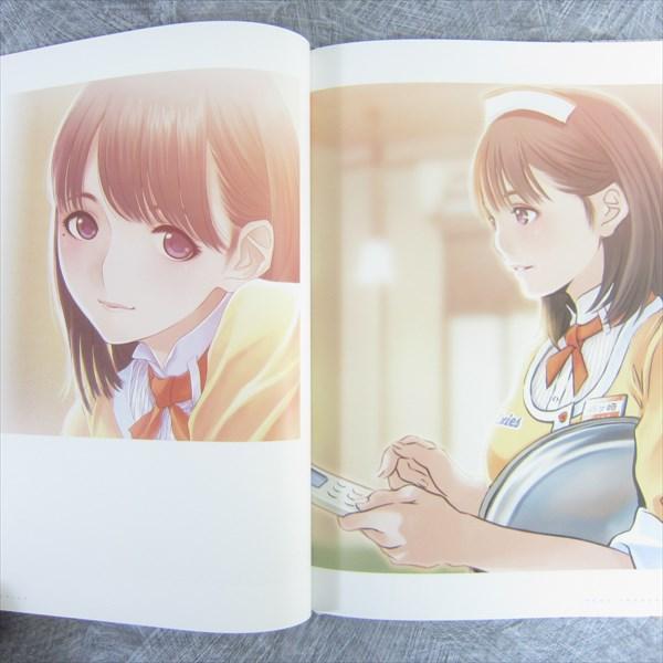 NEW LOVE PLUS Illustrations NENE Art Material MINO TARO Japan 3DS Book Ltd