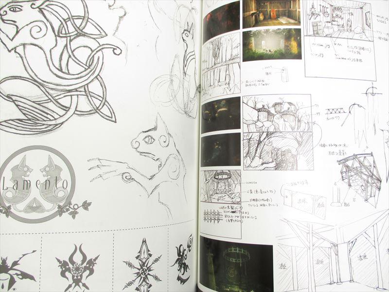 LAMENTO Beyond the Void Nitro+CHiRAL Official Works Art Book Japan Anime