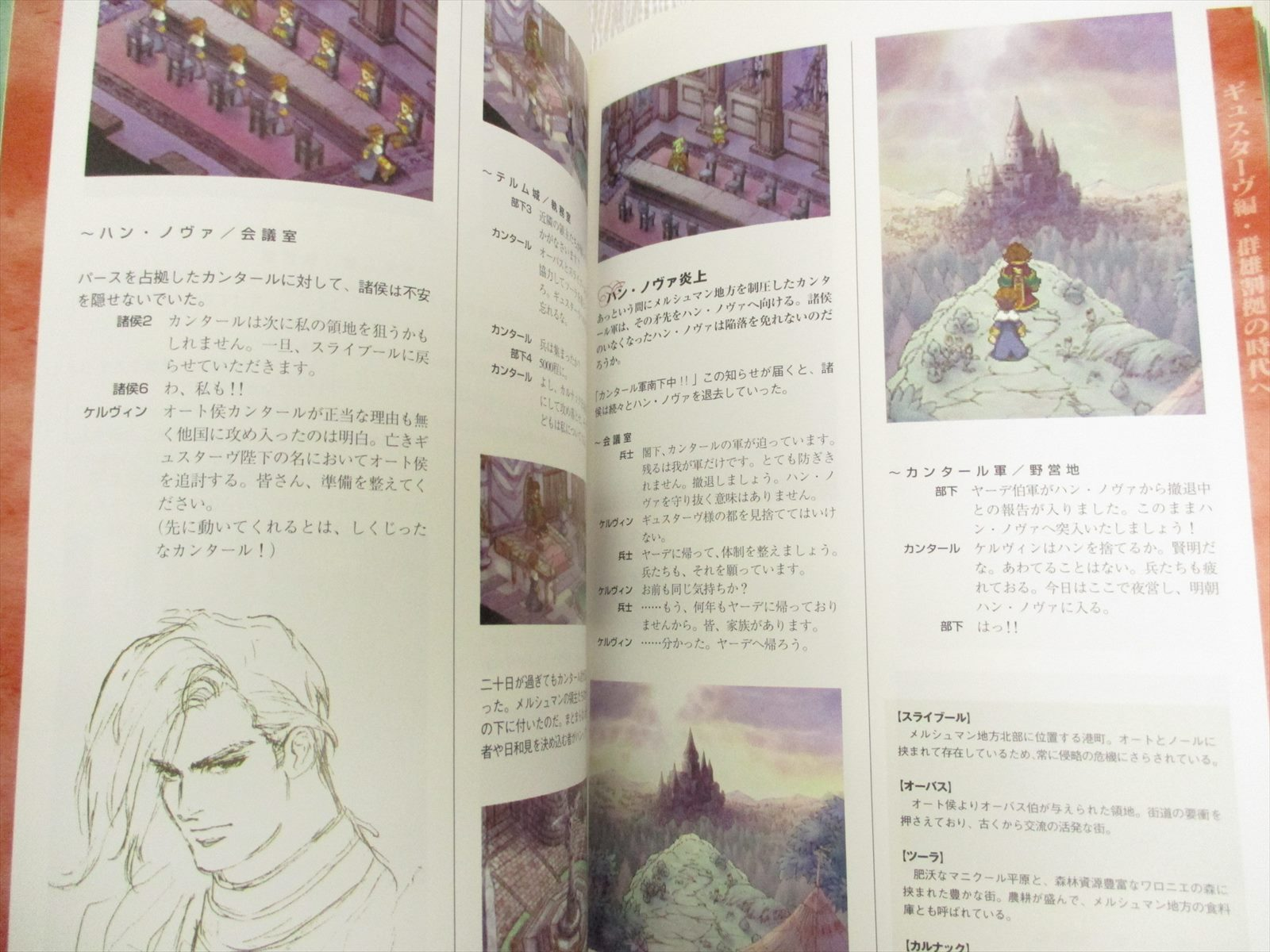 Details about SAGA FRONTIER 2 Memorial Album Art Illustration Scenario Book  T  KOBAYASHI DC32