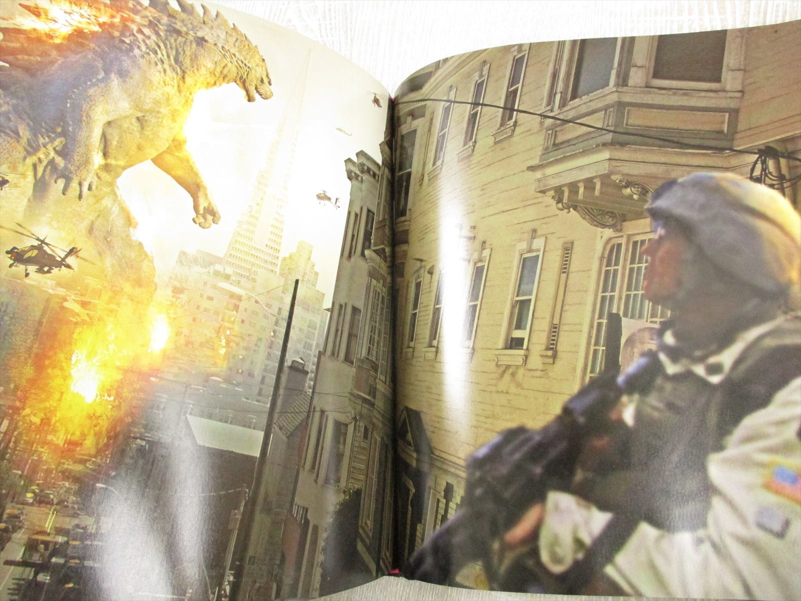 GODZILLA Art of Destruction w/Poster Illustration Book * | eBay