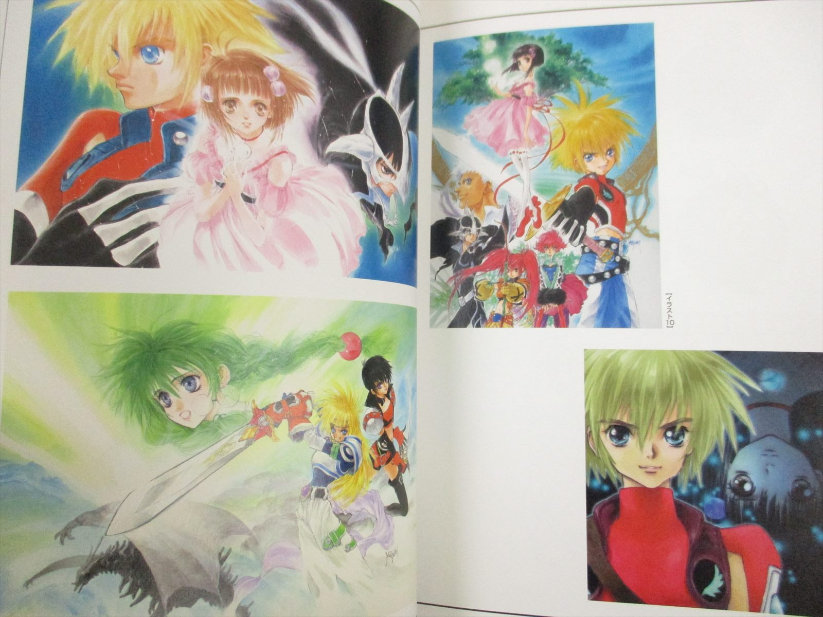 JAPAN Tales of Destiny Character Collection art book