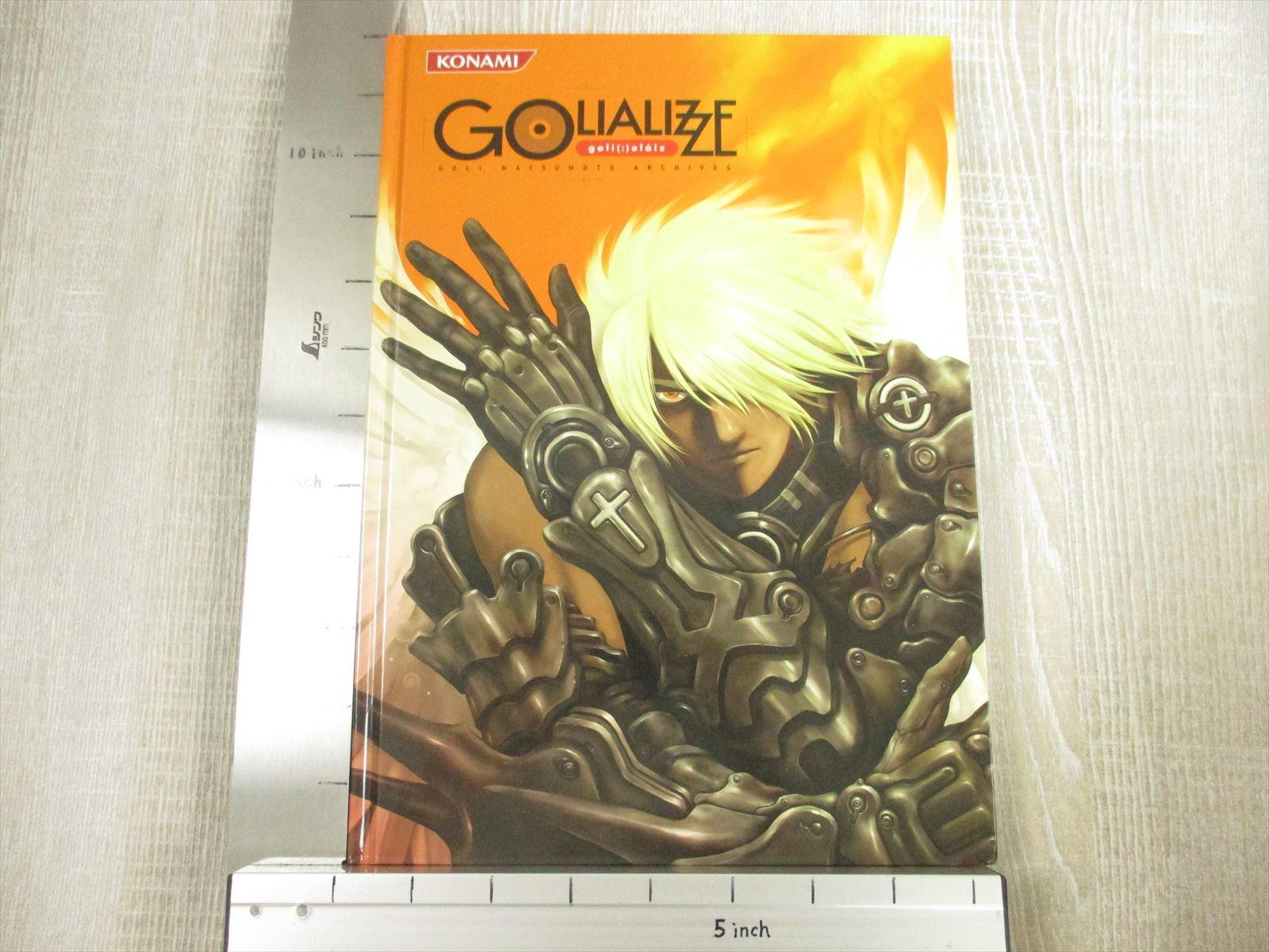GOLI MATSUMOTO Archives GOLIALIZZE w//Posters Art Works Book KONAMI Ltd *