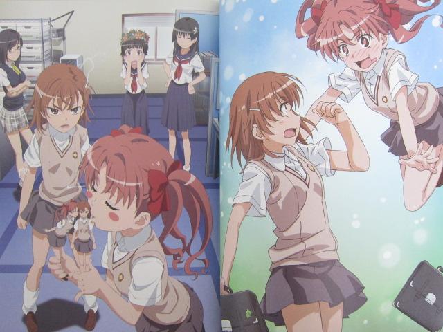 TOARU KAGAKU NO RAILGUN Complete Visual Guide Art Fan 2011 Book MW*
