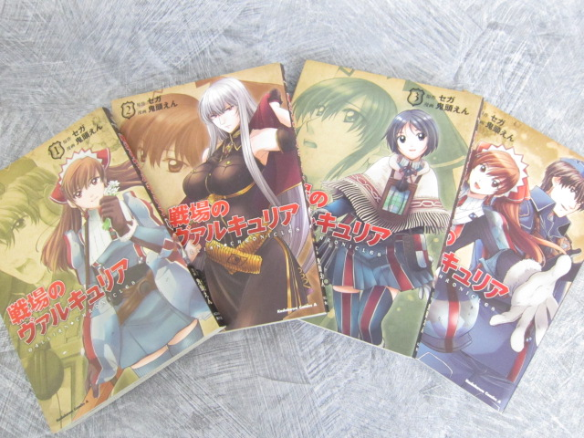 GALLIAN CHRONICLES Senjo no Valkyria Animation Fanbook Art Illustration Book *