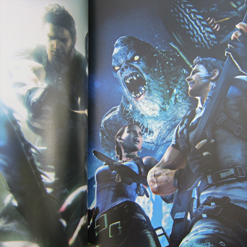 USED BIOHAZARD 5 Resident Evil Official Art Works Illustration book PS3 Xbox
