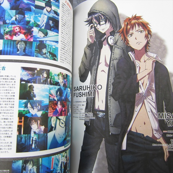 SPOON 2Di 38 w//Poster Bookmark K Kagerou Project Art Book Magazine 2013 *