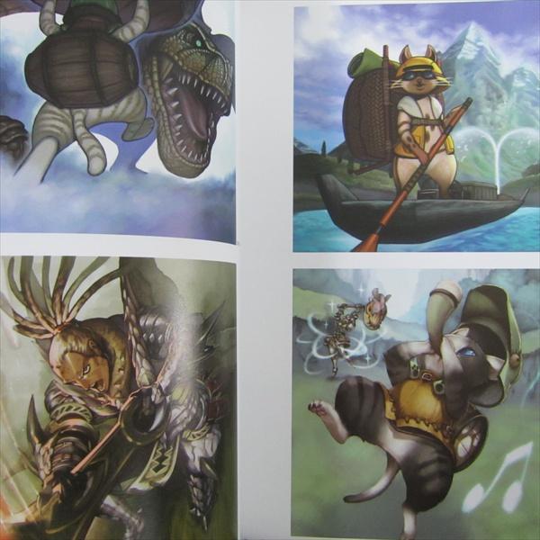 Monster Hunter Art Book