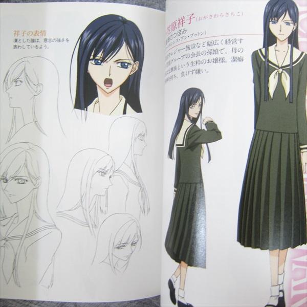 MARIA SAMA GA MITERU Premium Book REINE HIBIKI Art Fanbook Book 50*