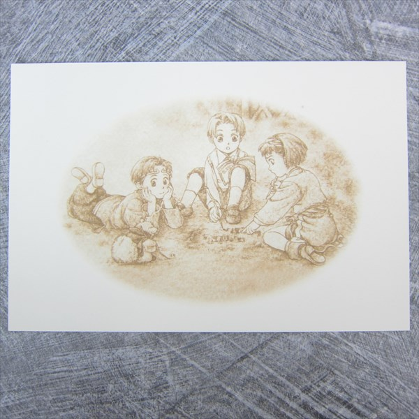 GENSO SUIKODEN II 2 Portrait Collection Art Illustration Book Ltd *