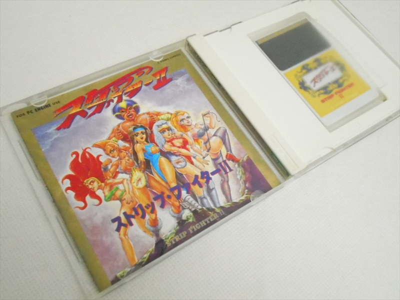 Details about STRIP FIGHTER II 2 Game Express Item REF/bbc PC-Engine Hu  JAPAN Game pe