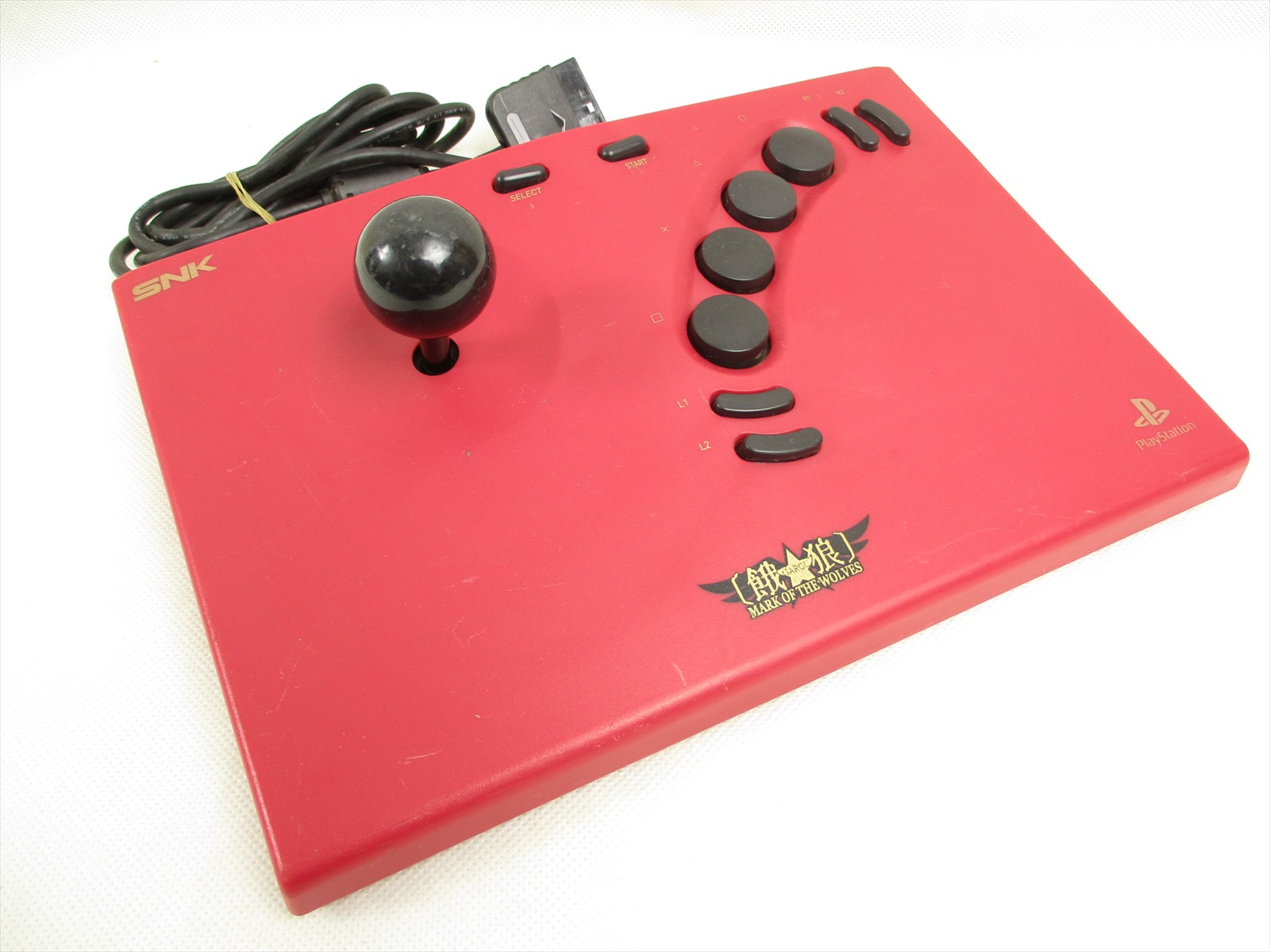 NEO GEO STICK 2 Controller Garou Mark Wolves Tested Playstation 2 PS2 2713 Japan